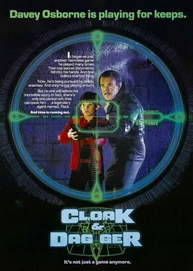 Плащ и Кинжал / Cloak & Dagger (1984) DVDRip