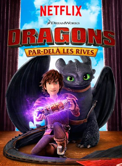 Драконы: Гонка на грани / Dragons: Race to the Edge (4 сезон/2017) WEB-DLRip