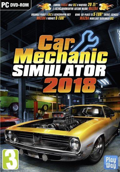 Car Mechanic Simulator 2018 (2017/RUS/ENG/MULTi12/RePack) PC