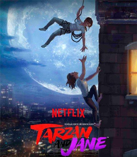 Тарзан и Джейн / Tarzan and Jane (1 сезон/2017) WEB-DLRip