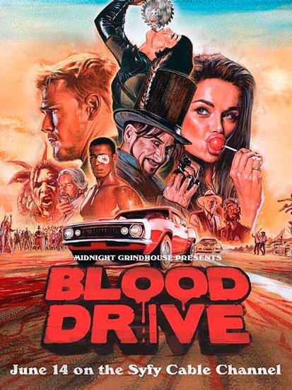 Кровавая гонка / Blood Drive (1 сезон/2017) WEB-DLRip