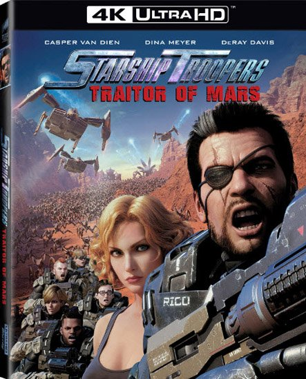 Звёздный десант: Предатель Марса / Starship Troopers: Traitor of Mars (2017) HDRip | BDRip 720p | BDRip 1080p