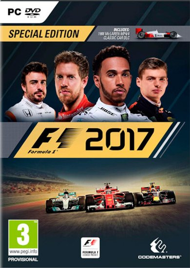 F1 2017 (2017/RUS/ENG/MULTi10) PC