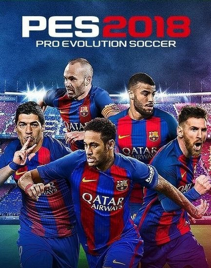 PES 2018 / Pro Evolution Soccer 2018: FC Barcelona Edition (2017/RUS/ENG/Re ...