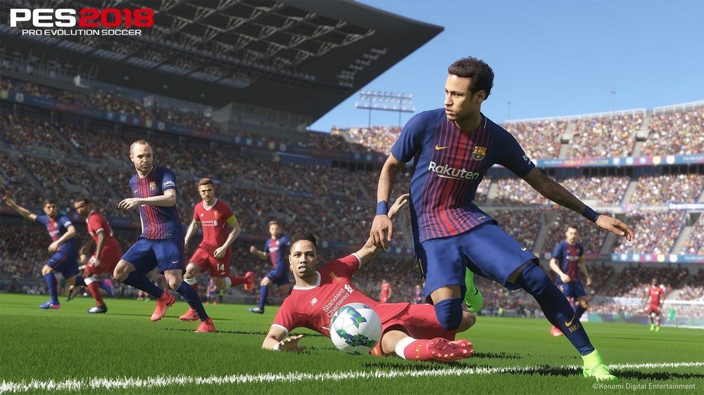 PES 2018 / Pro Evolution Soccer 2018: FC Barcelona Edition (2017/RUS/ENG/RePack) PC
