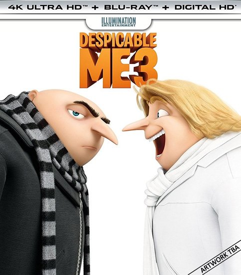 Гадкий я 3 / Despicable Me 3 (2017) HDRip | BDRip 720p | BDRip 1080p
