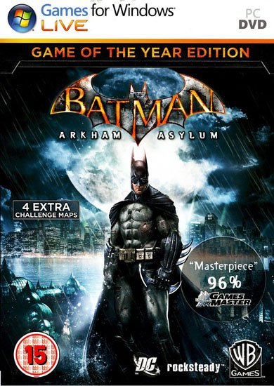 Batman: Arkham Asylum - Game of the Year Edition (2010/RUS/ENG/RePack) PC