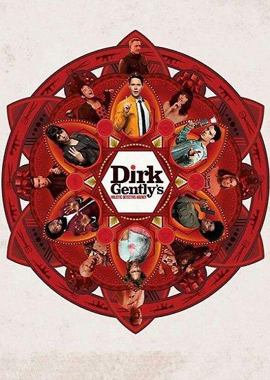 Детективное агентство Дирка Джентли / Dirk Gently's Holistic Detective Agency (2 сезон/2017) HDTVRip