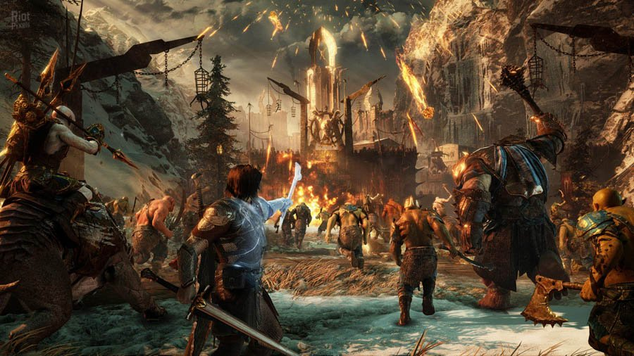 Средиземье: Тени войны / Middle-earth: Shadow of War - Gold Edition (2017/RUS/ENG/MULTi11/RePack) PC