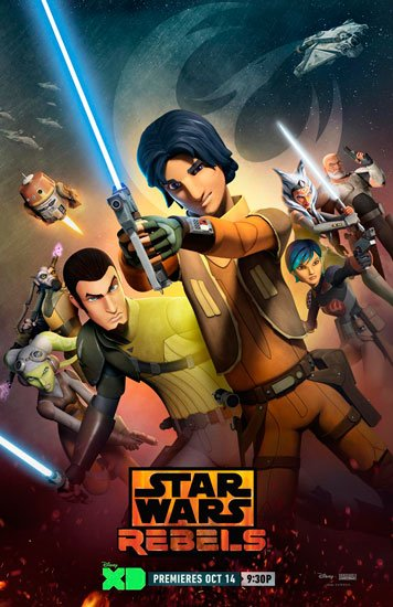 Звездные войны: Повстанцы / Star Wars Rebels (4 сезон/2017) HDTVRip