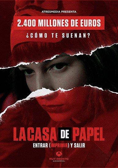 Бумажный дом / La casa de papel (1 сезон/2017) HDTVRip