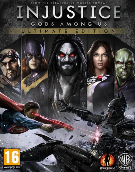Injustice: Gods Among Us Ultimate Edition (2013/RUS/ENG/Multi/RePack) PC