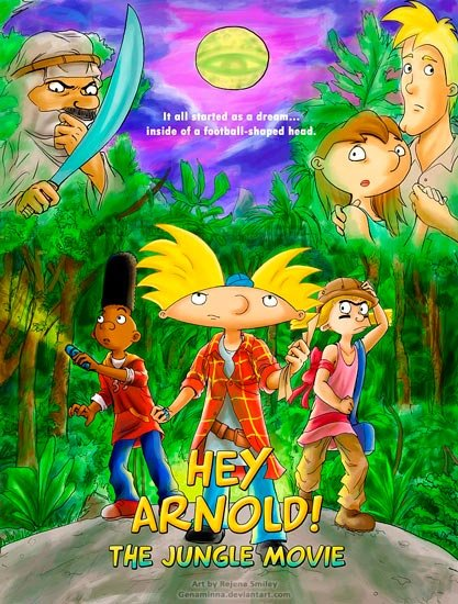 Эй,Арнольд! Приключения в джунглях / Hey, Arnold, The Jungle Movie (2017) WEBRip 1080p