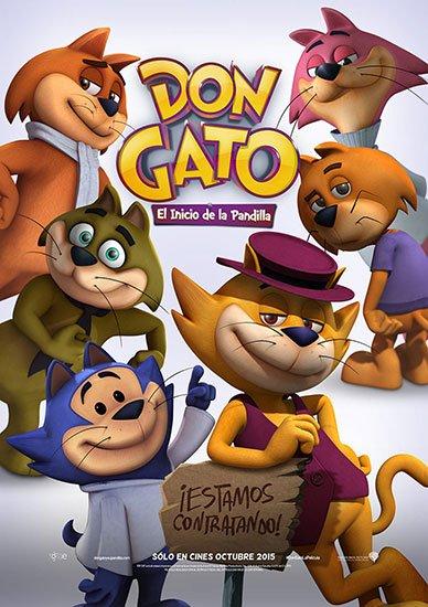 Банда котиков / Don Gato: El Inicio de la Pandilla (2015) HDRip