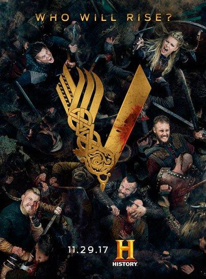 Викинги / Vikings (5 сезон/2017) WEB-DLRip