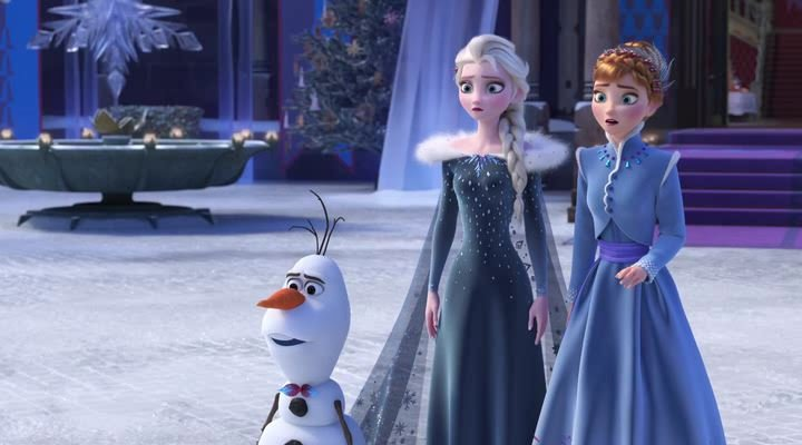 Олаф и холодное приключение / Olaf's Frozen Adventure (2017) WEB-DLRip | WEB-DL 720p | WEB-DL 1080p