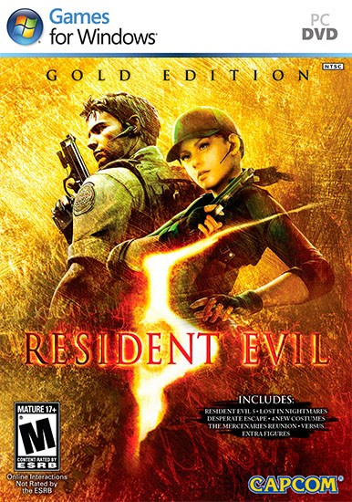 Resident Evil 5: Gold Edition (2009-2015/RUS/ENG/MULTI/RePack) PC
