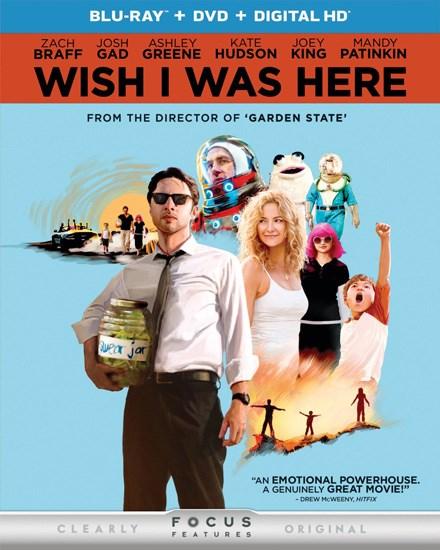 Хотел бы я быть здесь / Wish I Was Here (2014/RUS/ENG) BDRip