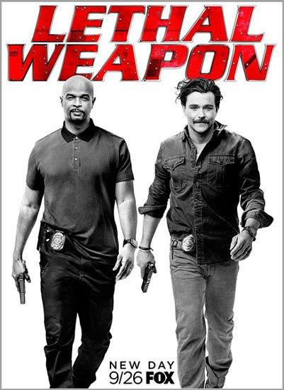 Смертельное оружие / Lethal Weapon (2 сезон/2017) WEB-DLRip