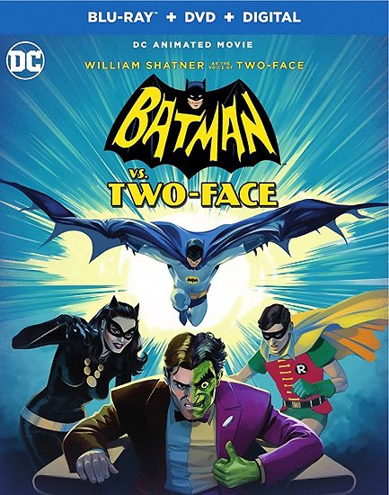 Бэтмен против Двуликого / Batman vs. Two-Face (2017) HDRip