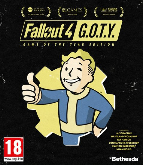 Fallout 4: Game of the Year Edition (2015/RUS/ENG/RePack) PC