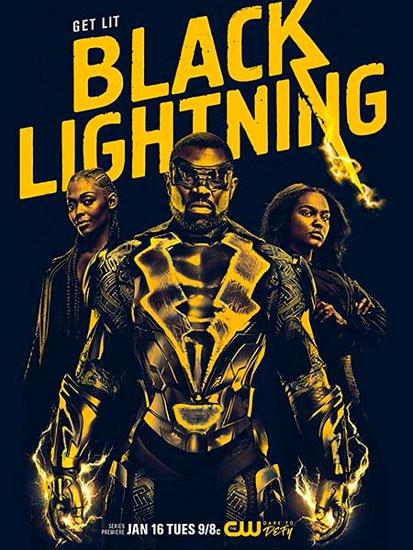 Черная молния / Black Lightning (1 сезон/2018) HDTVRip