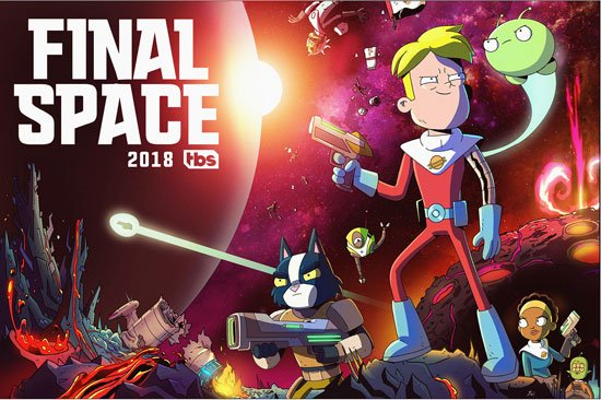 Космо-Рубеж / Final Space (2018) WEB-DLRip
