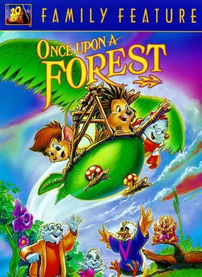 Однажды в лесу / Once Upon a Forest (1993) DVDRip | WEBRip 720p
