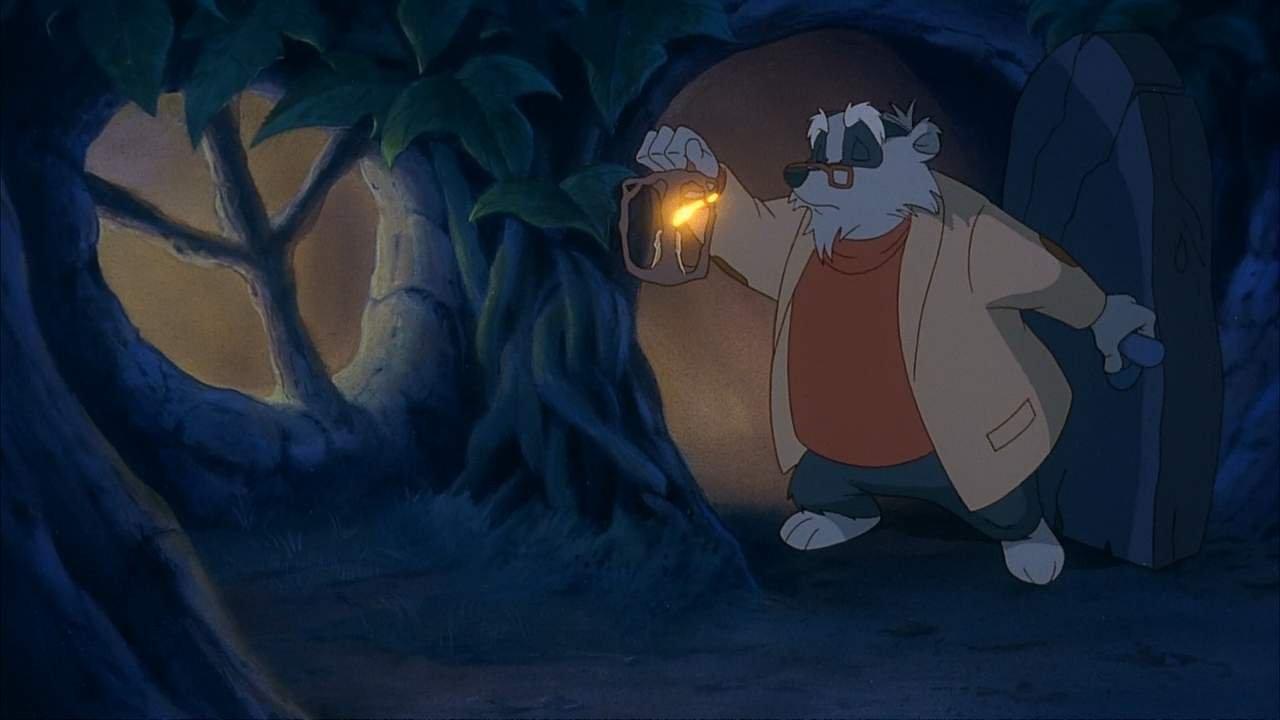 Однажды в лесу / Once Upon a Forest (1993) DVDRip   WEBRip 720p