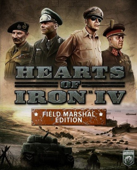 Hearts of Iron IV: Field Marshal Edition (2016-2018/RUS/ENG/Multi/Repack) PC