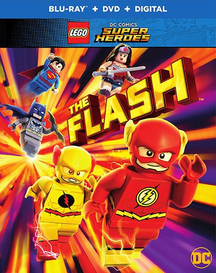 Лего: Флэш / Lego DC Comics Super Heroes: The Flash (2018) HDRip