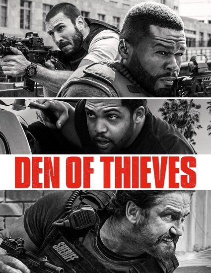 Охота на воров / Den of Thieves (2018) WEB-DLRip | WEB-DL 720p | WEB-DL 1080p